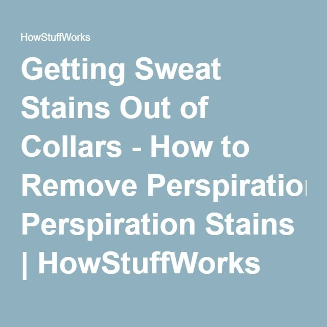 409 best images about home stuff good to know on pinterest for How to prevent sweat stains on shirts