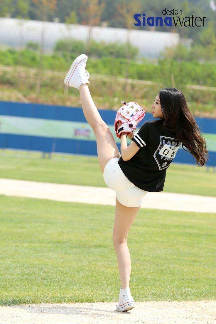 BESTie DaHye First Pitch TV Show 'Let's Go Dream Team'