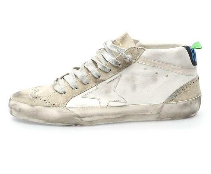 Golden Goose Deluxe Brand Mid Star - White