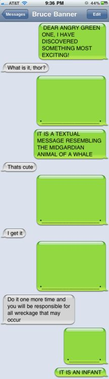 "This is kinda really funny cuz me and my friend send whales ALL of the time. Like its our greeting message instead of ""hi"""