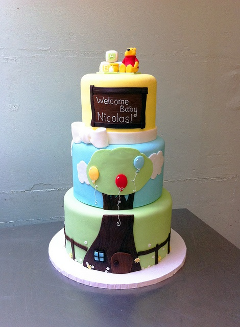 Winnie the Pooh Baby Shower by emmacakes, via Flickr