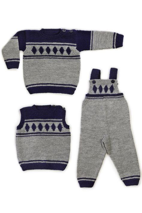 Vauvan pusero, haalarit ja slipoveri Novita Nalle | Novita knits