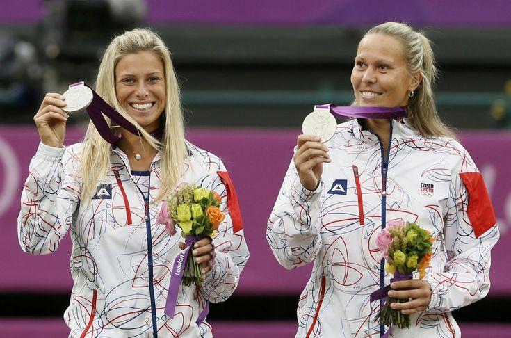 Lucie Hradecká, Andrea Hlaváčková. Olympic Games in London 2012