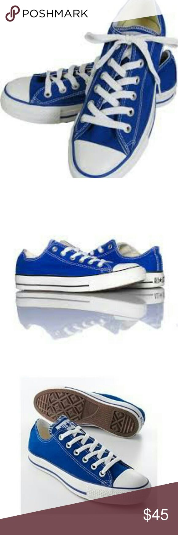 Womens royal blue converse Womens royal blue converse Converse Shoes Sneakers