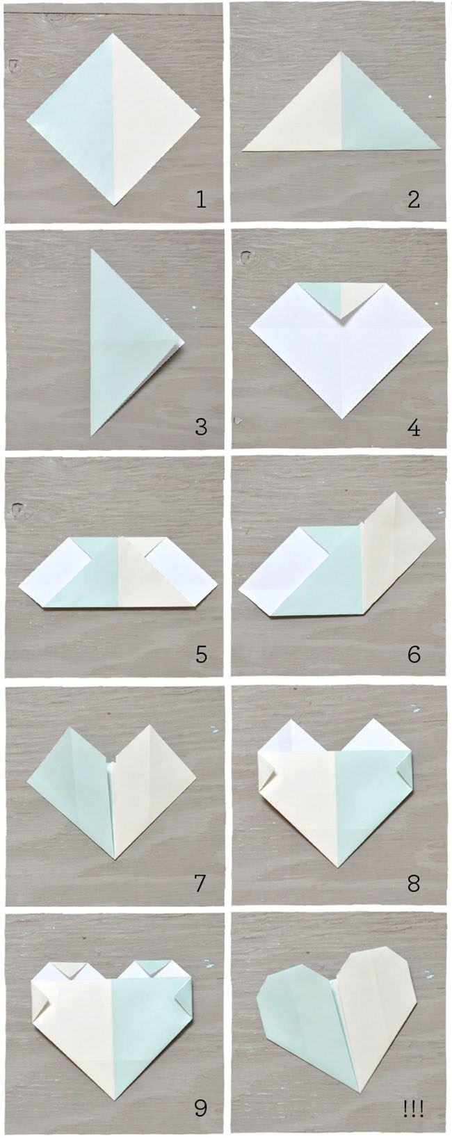 Origami para seating plan