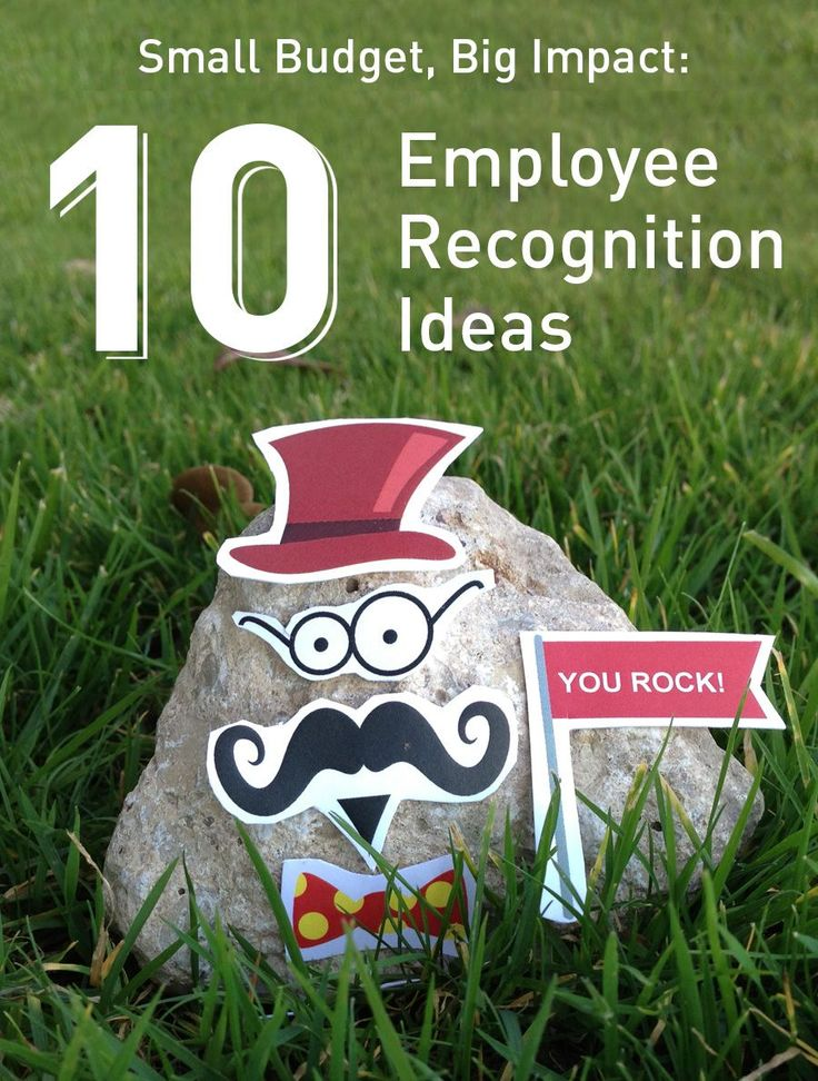 Small budget, big impact: 10 employee recognition ideas