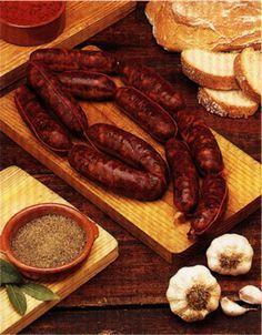 Los #Chorizo colorado exquisito #Embutido