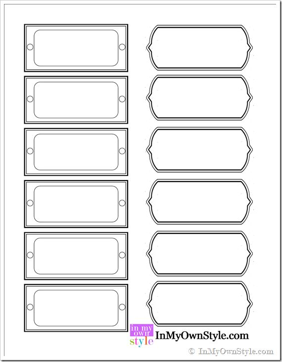 free printable magazine file labels inmyownstyle com paper