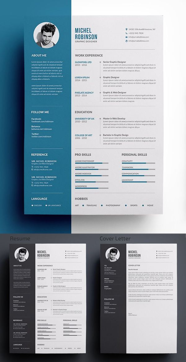 30 Best Word Resume Templates Design Graphic Design Junction Resume Design Creative Cover Letter For Resume Resume Design Template