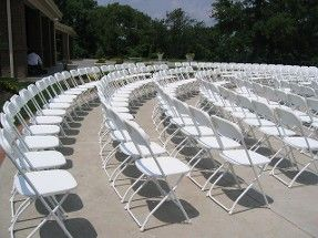 Perfect Décor Inspiration For Your Special Event. Different Ways You Can Decorate  Our White Samsonite Folding · Folding ChairsWedding Ideas