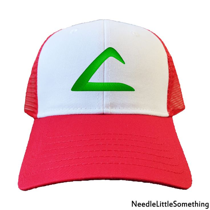 Catch 'em catch 'em gotta catch 'em all!     Pokemon Go is all the rage around the world, Now is your chance to become the Pokemon master of your dreams while wearing this signature Ash Ketchum inspired custom embroidered Red/White hat!     Celebrate Pokemon Day today and find the rarest of all Pokemon in style!     #Pokemon #PokemonDay #PokemonMaster #AshKetchum #Pikachu #PokemonGO #GottaCatchEmAll #Anime #Cosplay #PokemonTCG #PokemonTheSeries #Embroidered #Hats #Gifts #Handmade #Quality