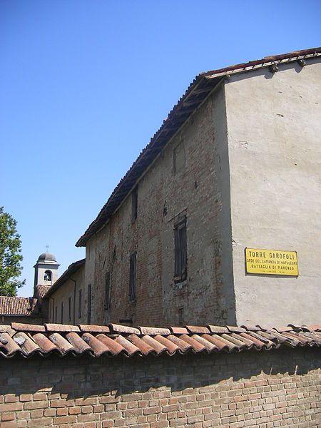 Napoleon's headquarters at Torre Garofoli, Tortona.