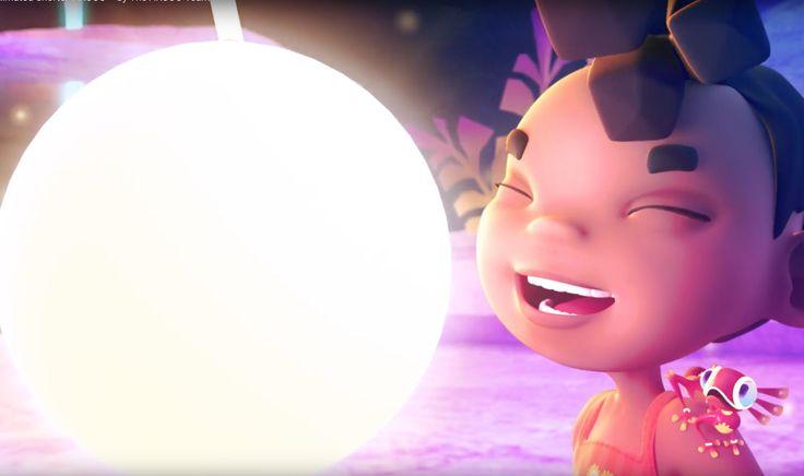 Ce film d'animation est absolument magique à la fois par sa réalisation et par le message qu'il véhicule. On comprend à la fin ce qu'est réellement cette petite créature qui enchante le monde de la fillette. Et le nom