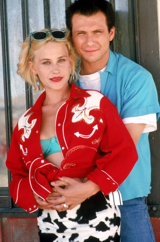 True Romance- 2 of my favorites together! Patricia Arquette and
