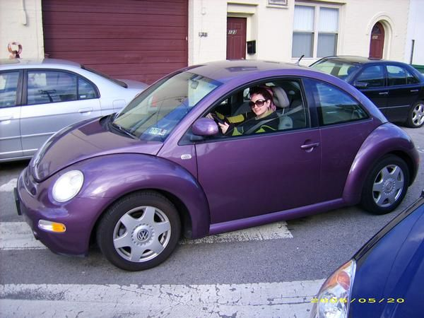 purple punch buggies | Beetle Purple | purple | Pinterest ...