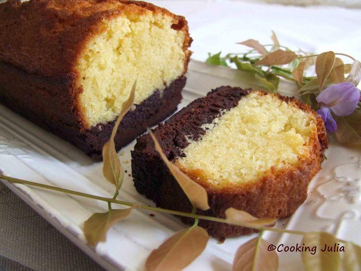 Brownie butter cake.....un délice gourmand
