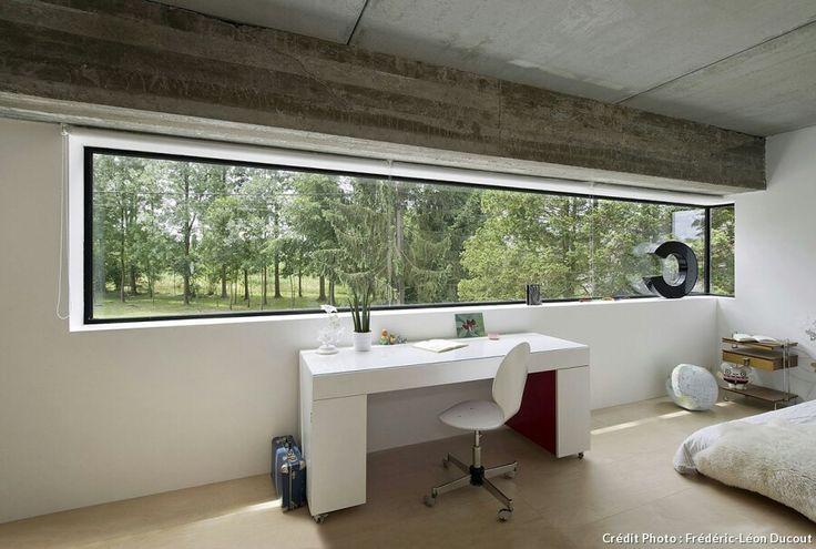 Baie vitrée bureau