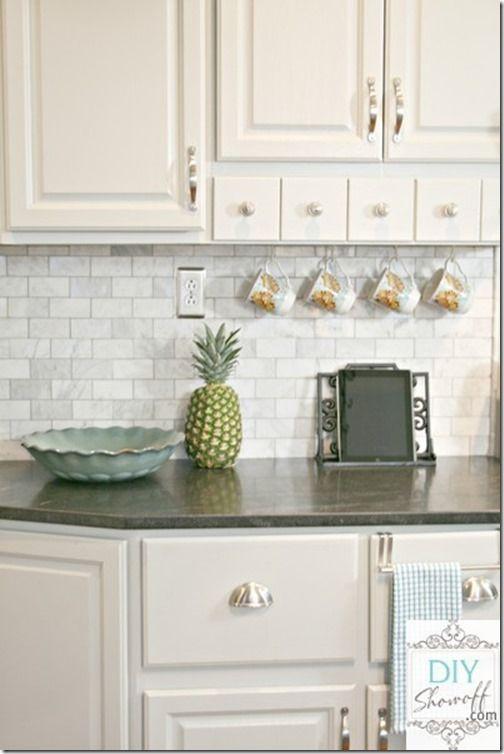 Tile Backsplash Ideas For White Cabinets Set Picture 2018