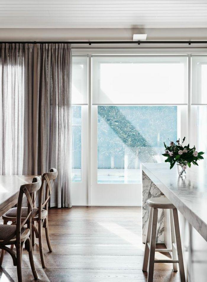 Fenster Gardinen Kuche Neue Fotografie 1001 Ideen Und Beispiele Fur Moderne Vorhange Undesszimmer Stuhle Esszimmer Vorhange Modern Fenster Gardinen Vorhange