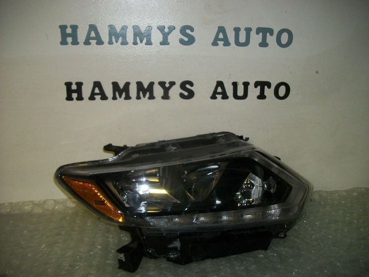 Awesome Nissan 2017: NISSAN ROGUE RH HALOGEN HEADLIGHT 14 15 2014 2015  USED