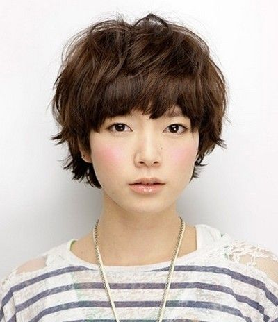 Japanese short hairstyle, like it!
