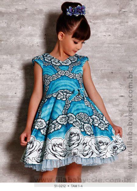 Vestido Infantil Miss Cake Doce Princesa 510212