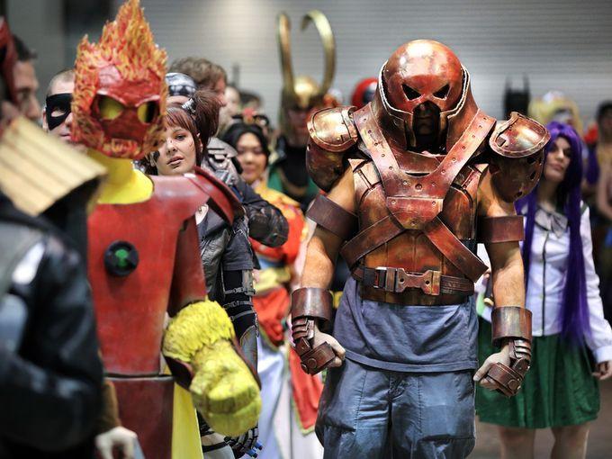 James W. of Lafayette dressed as Juggernaut from the X-Men comics as & The 28 best Juggernaut Cosplays images on Pinterest | Marvel comics ...