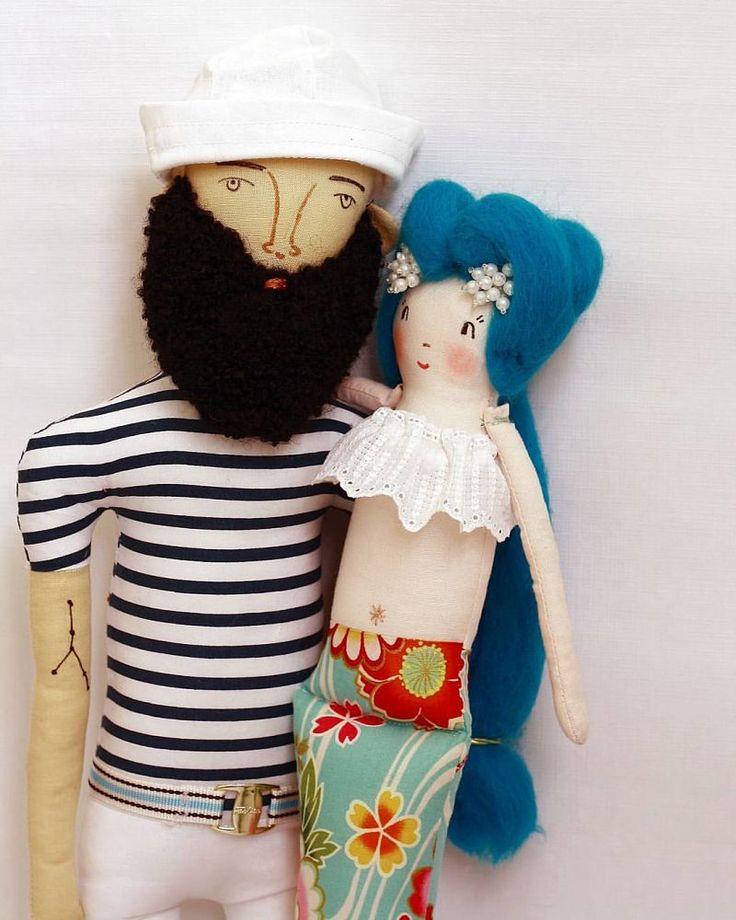 Estrella and Dolls, ahoy! a los muñecos de tela