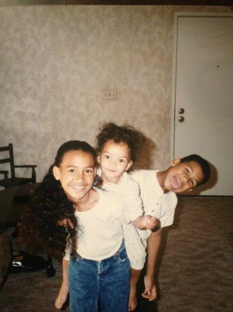 Naya Rivera Sister Naya with her sister N...