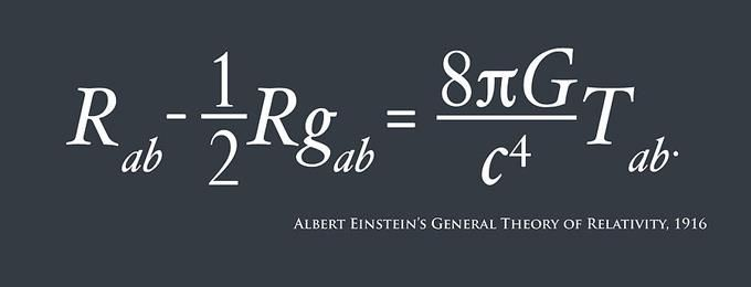Albert Einstein's General Theory of Relativity, 1916
