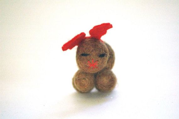 LittleRudolph Christmas Decoration or Ornament by TheNataleStore, $12.50
