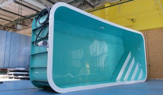 Skimmerový bazén světlá varianta, Adriane Premium