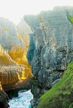Pancake Rocks, New Zealand For quality and value worldwide travel insurance visit www.clicktravelcover.com
