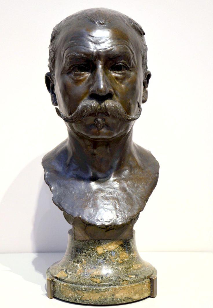 le docteur mile reymond 1901 par alfred boucher 1850 1934 buste en bronze et pi douche en. Black Bedroom Furniture Sets. Home Design Ideas