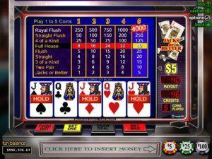 Strategi Permainan Poker Video Non-Wild - Playing Poker Casino Online indonesia