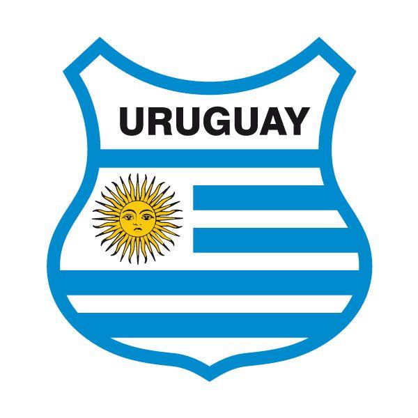 Pegatinas: Escudo bandera de Uruguay #bandera #pegatina #TeleAdhesivo