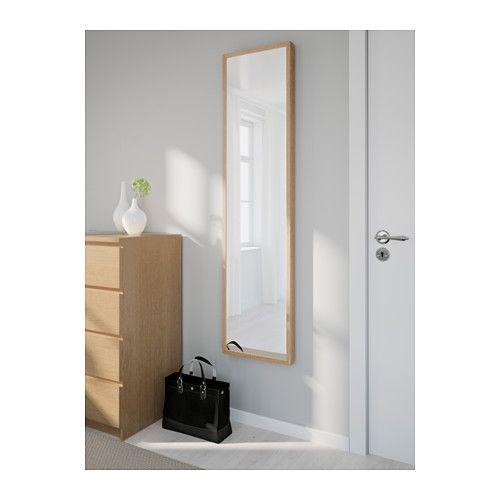 STAVE Zrcadlo - dub, 40x160 cm - IKEA