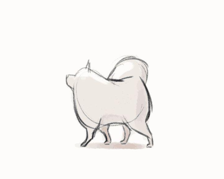 artist on tumblr 2d animation gif | Dog Art | Pinterest | 2d and ...
