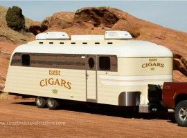 new westcraft trailer built into a luxury cigar lounge by. Black Bedroom Furniture Sets. Home Design Ideas