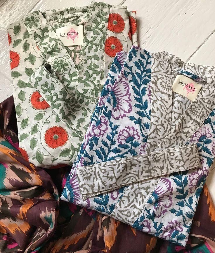 Lautrop jewellery double sided kimonos