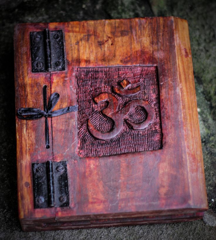 Wooden diary / magic diary / book of shadows / hand made book / diary / handmade diary / book of spells / spell book / journal / notebook by Arcanian on Etsy