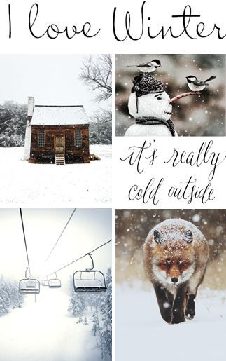 moodboard - winter
