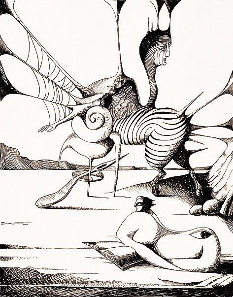 """catmota: """"  Cruzeiro Seixas (b. 1920) prints at Amazon.com """""""