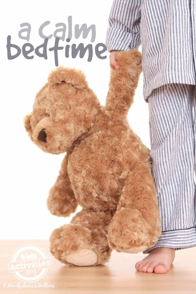 A New Calm and Mindful Bedtime Routine - Kids Activities Blog