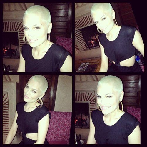 How is she so hot with a shaved head?!