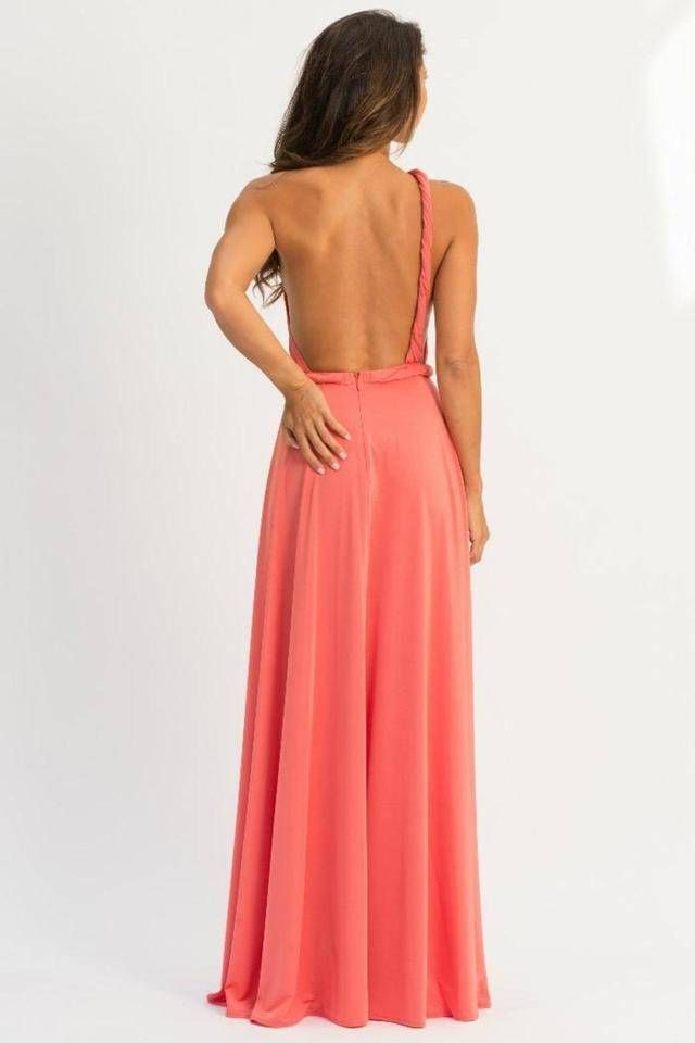 Vamp One-Shoulder Maxi : Shoptiques