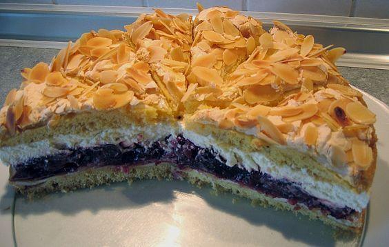 Hansen - Jensen - Torte mit Sauerkirschen, ein tolles Rezept aus der Kategorie Torten. Bewertungen: 52. Durchschnitt: Ø 4,5.