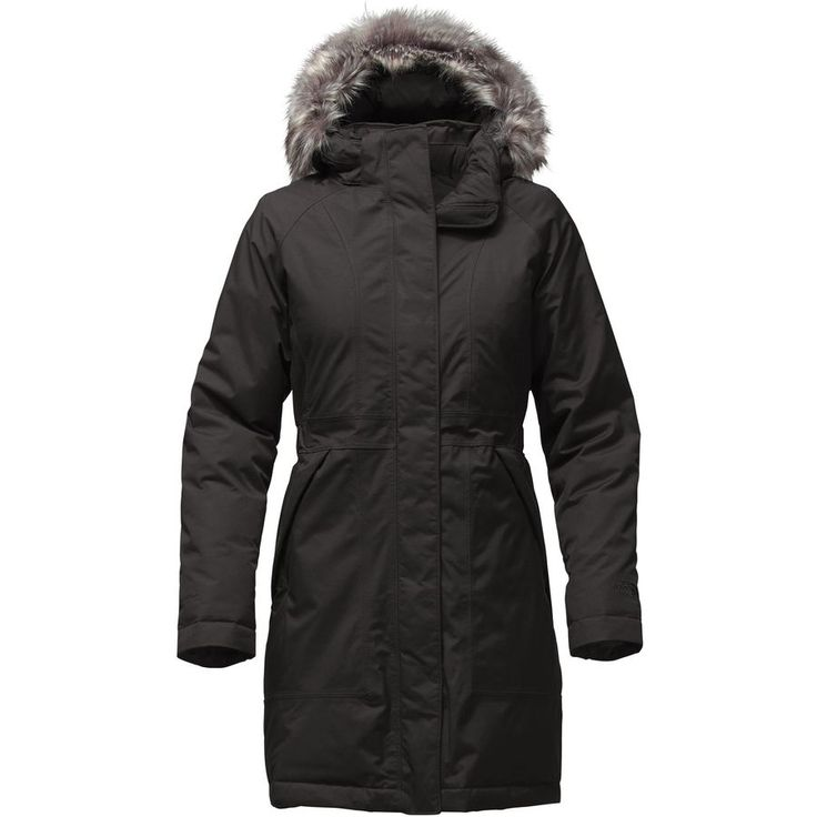 The North Face - Arctic Down Parka - Women's - Tnf Black/White Fur