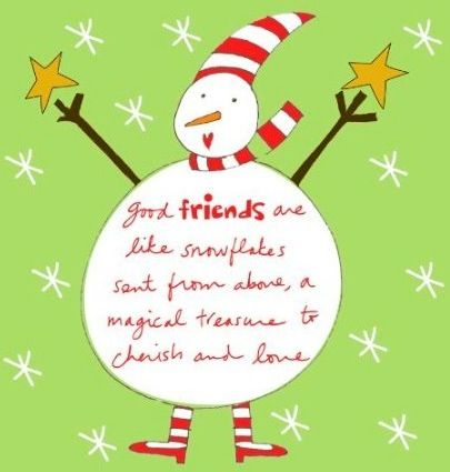 Image result for christmas with friends quotes