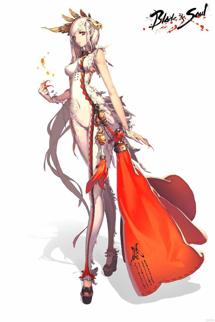 Anime Characters Born On February 7 : Best blade soul images on pinterest anime art
